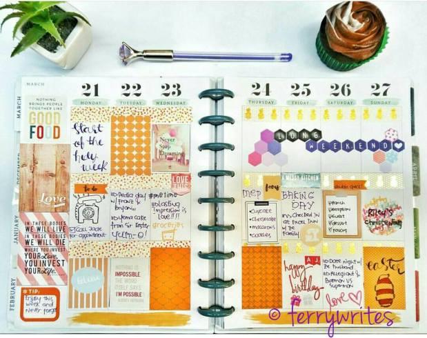 happy_planner_week_12_orange_theme_ferrywrites