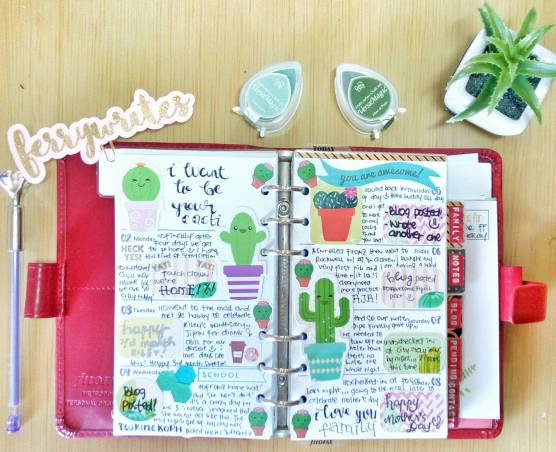 filofax_metropol_red_week_18_cactus_spread_ferrywrites